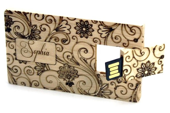 WOODEN CARD DRIVE