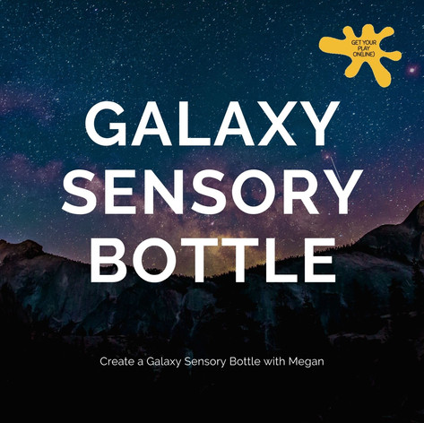 Galaxy Sensory Bottle