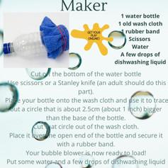 DIY Bubble Snake