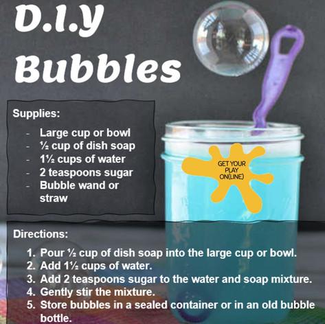 DIY Bubbles