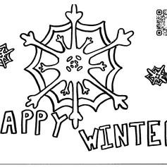 Happy Winter Snowflake