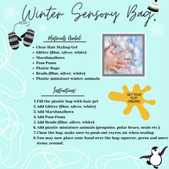 Winter Sensory Bag