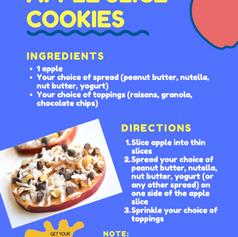 Apple Slice Cookies