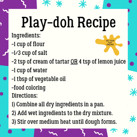 Playdoh Recipe