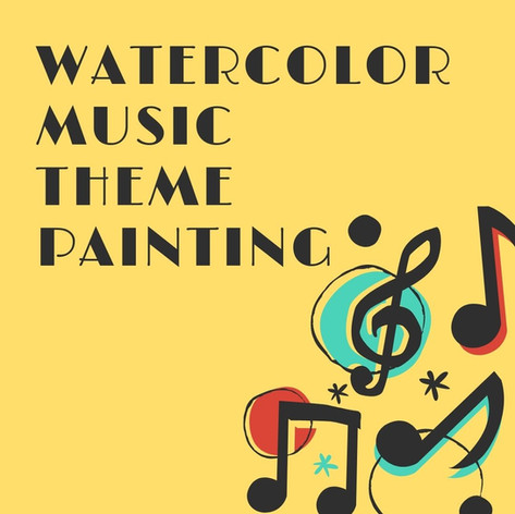 Watercolor Music Painting
