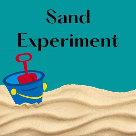 Sand Experiment