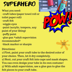 Superhero Tubes