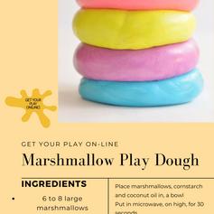 Marshmallow Playdoh
