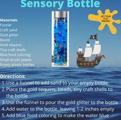 Pirate Sensory Bottle