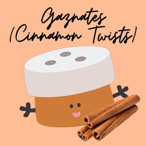 Gaznates (Cinnamon Twists)