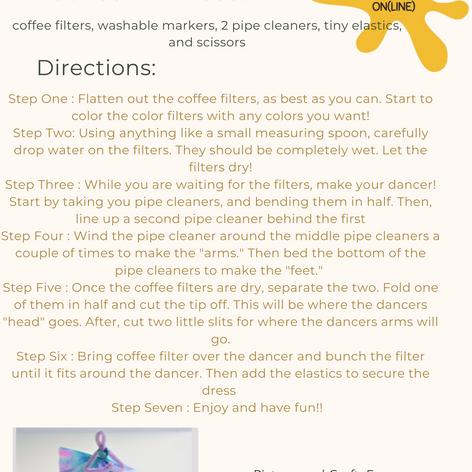 Coffee Filter Dancers