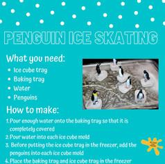 Penguin Ice Skating