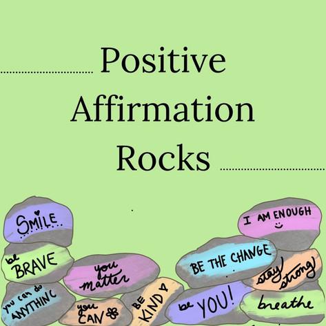 Positive Affirmation Rocks