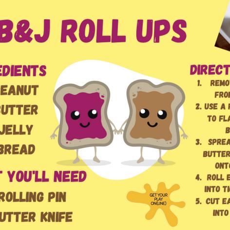 PB&J Roll Ups