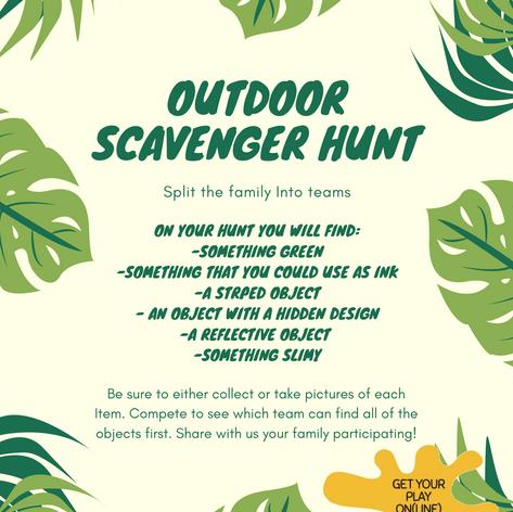Outdoor Scavenger Hunt