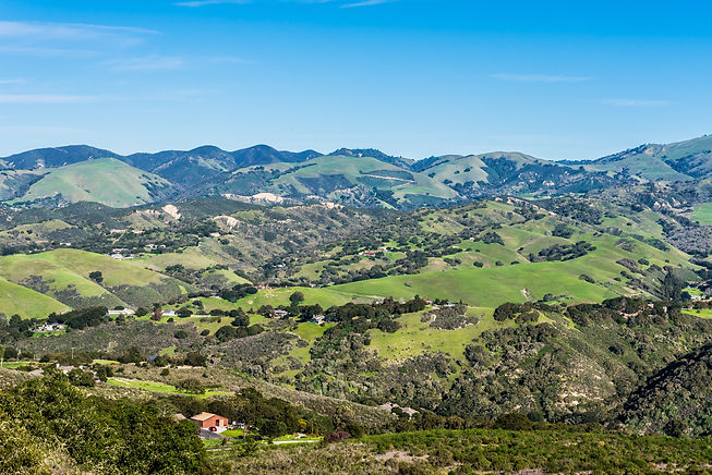 A scenic view of Carmel Valley, in Monte