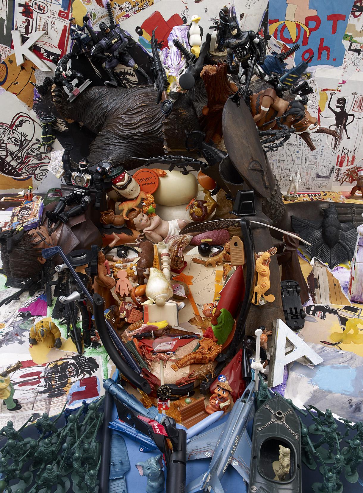 BP29 - Bernard Pras - Basquiat 160x120 -