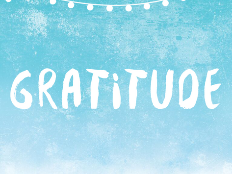 Upon reflection, gratitude is possible
