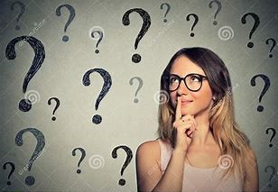 Glasses with Question Mark Lenses