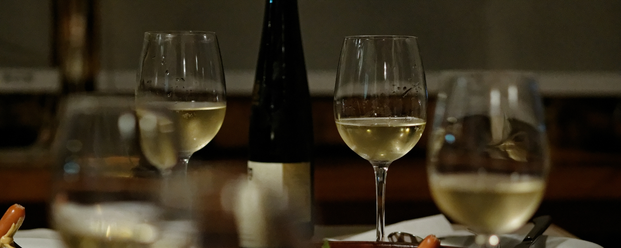 Riesling with glasses