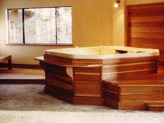 Redwood indoor spa