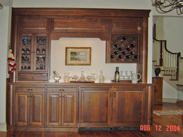 Walnut Wet Bar