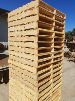 Hybrid New & Recycled Timber Pallets
