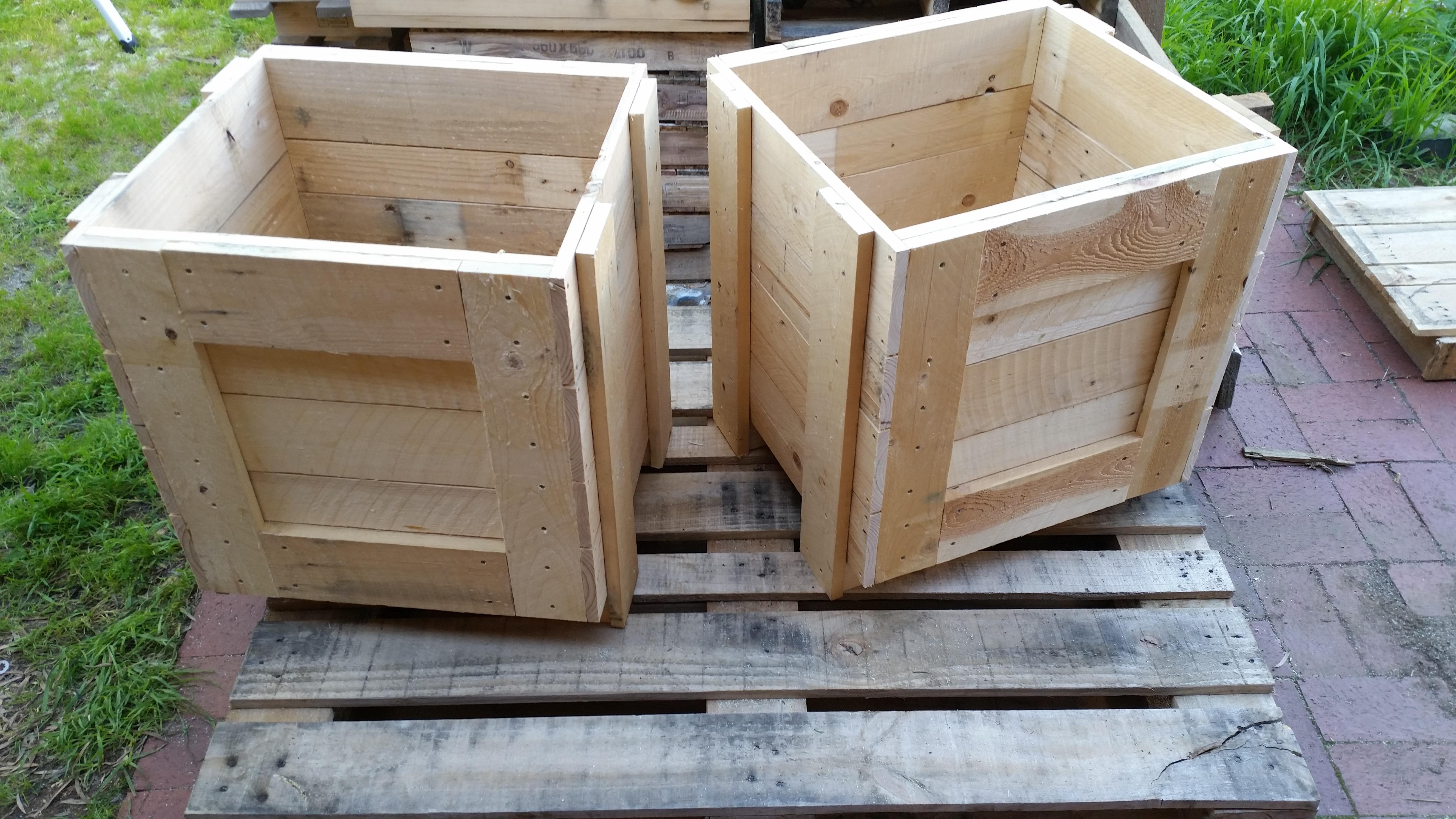 Custom Pallet Boxes