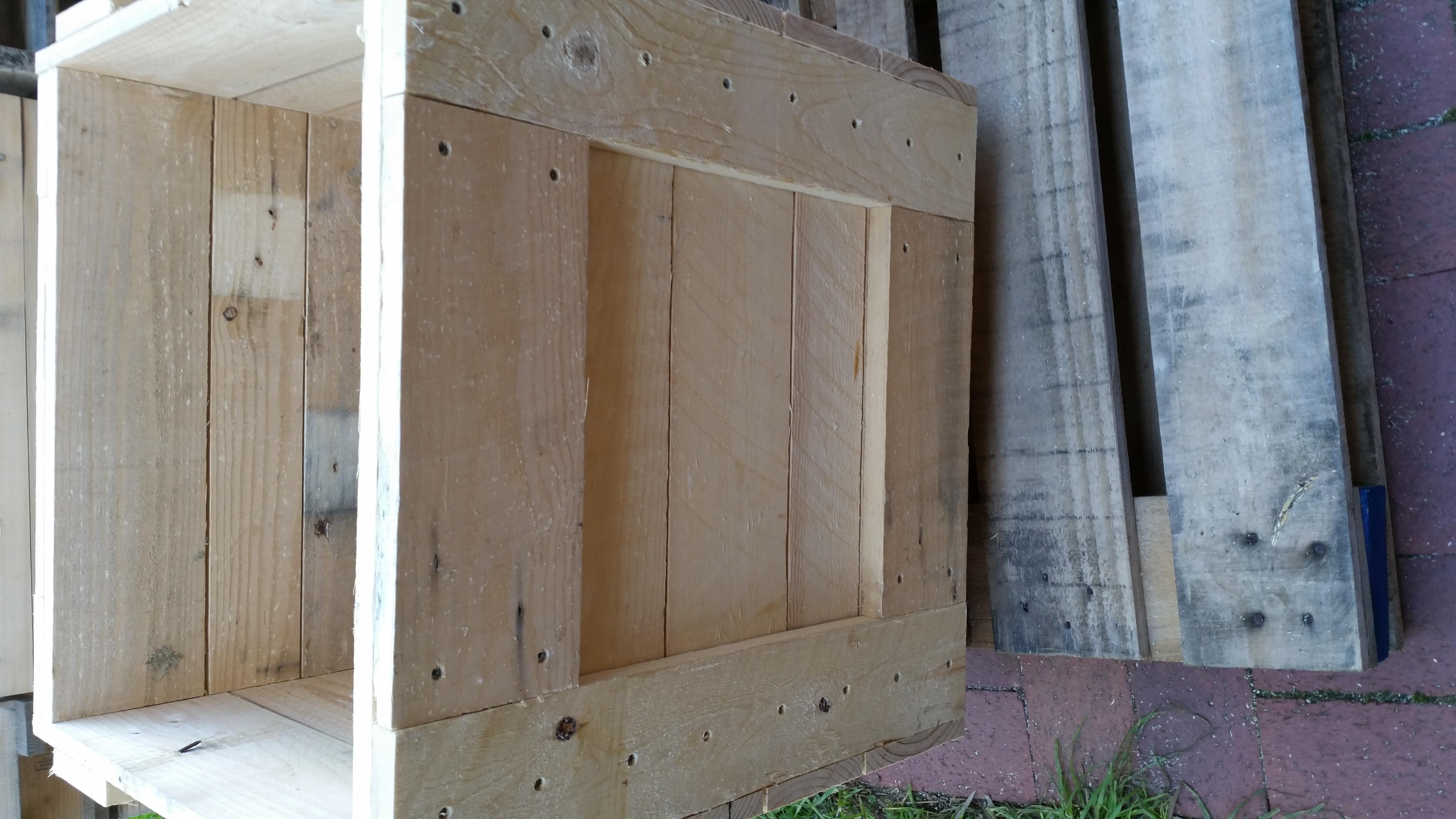 Replica Transport Crate Planter Boxe