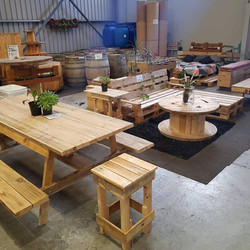 Reclaimed Timber Picnic Table