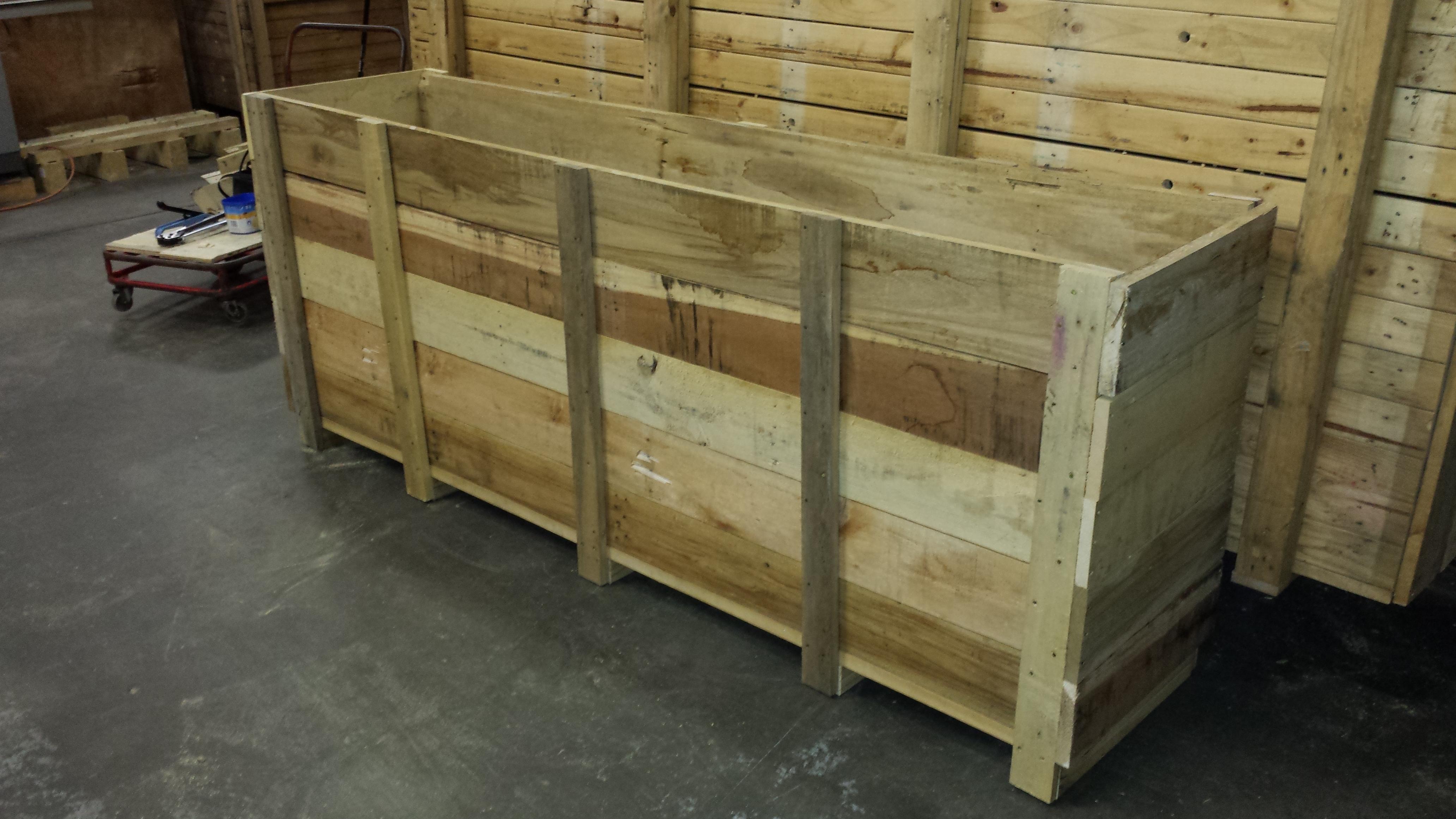 Custom Pallet Planter