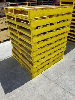 Refurbished Spray Painted Pallets