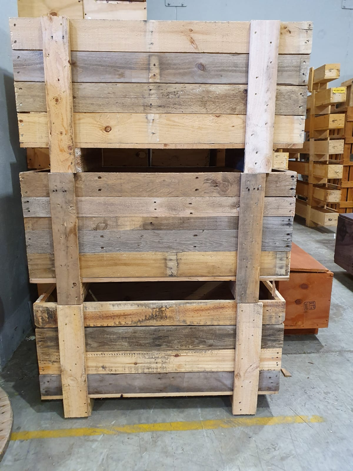 Custom Recycled Crates