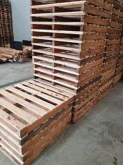 100% Recycled Timber Pallet