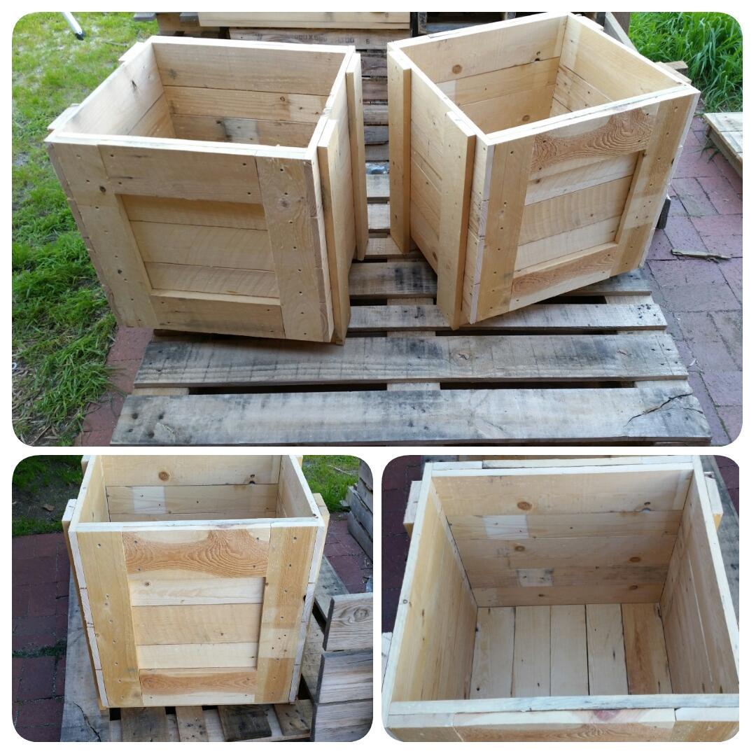 Replica Transport Crate Planter Box