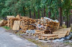 Waste Pallets Building Up?