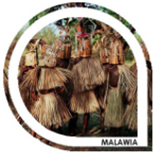 MALAWIA - Mélange blond / brun