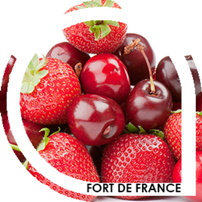FORT DE FRANCE - Cerise / fraise
