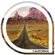 CALIFORNIA - Blond caramel