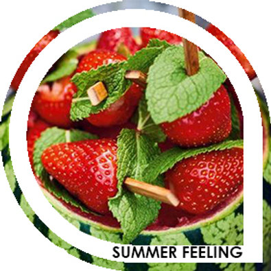 SUMMER FEELING - Fraise / Pastèque