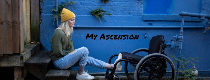 "Rising above a suicide attempt that left her paralyzed - ""My Ascension"""