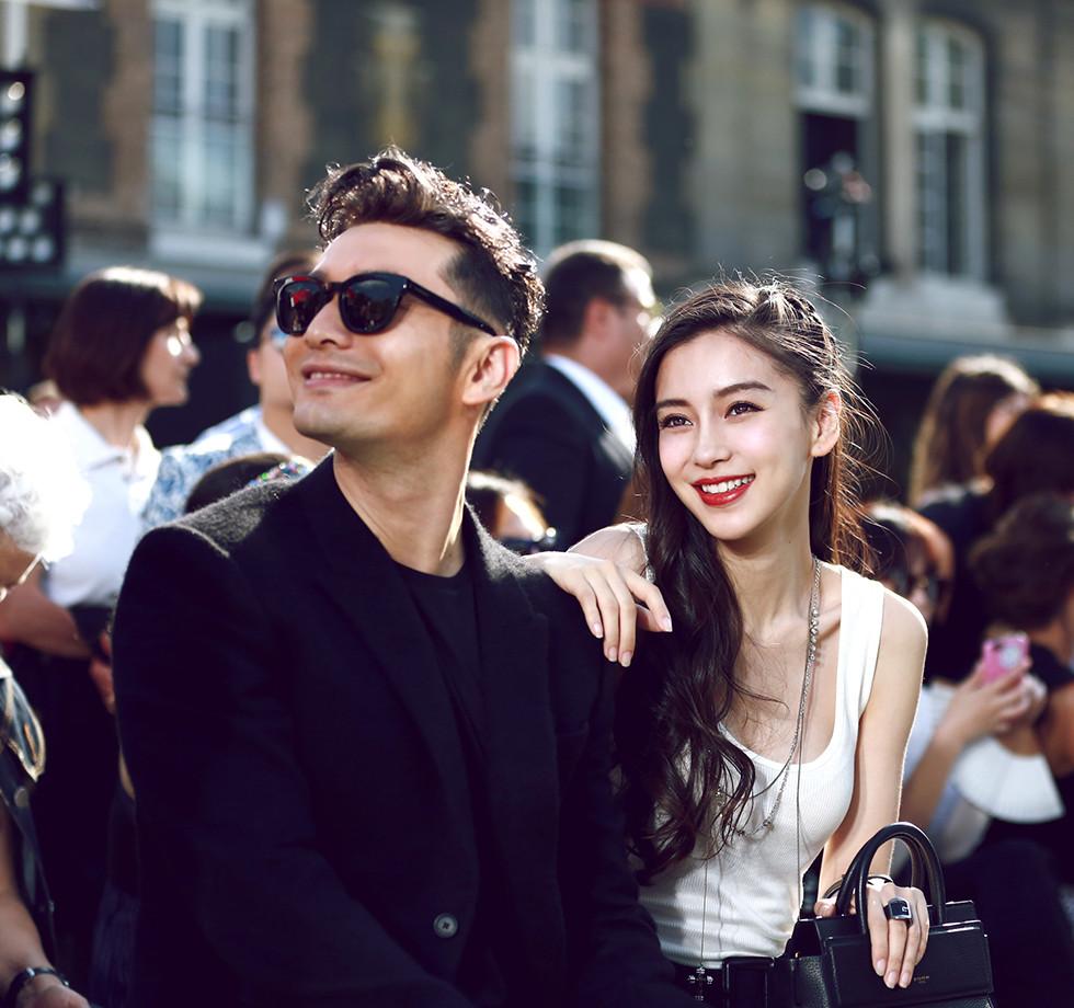 Chinese Celebrities - 黄晓明&Angelababy