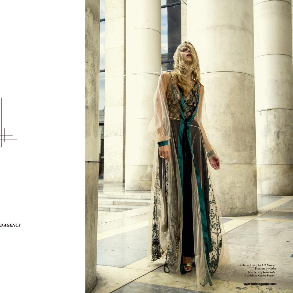 Across The Line (For HUF Magazine)