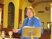 Fr Tim presiding mass