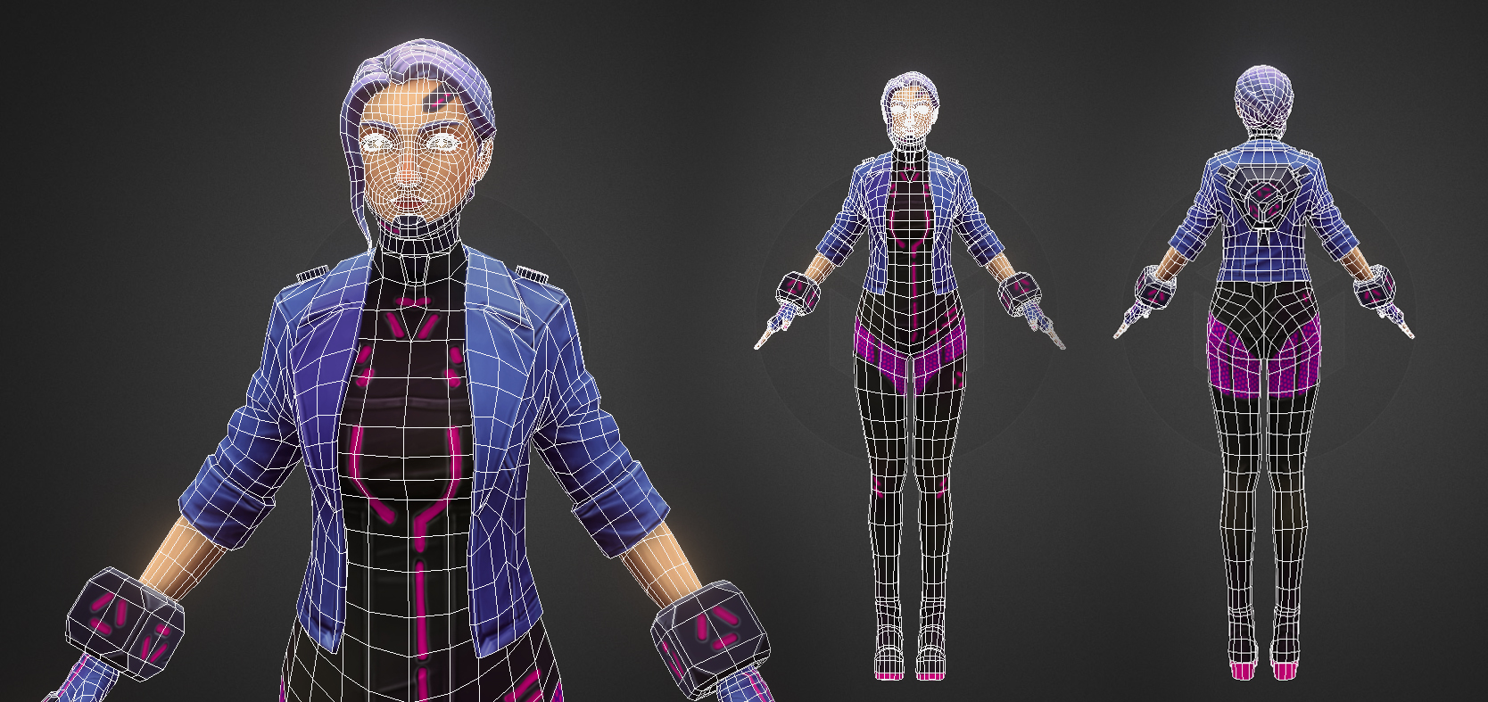 Character Wireframe