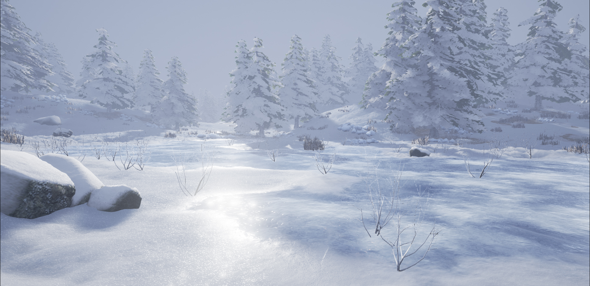 Winter Level in UE4