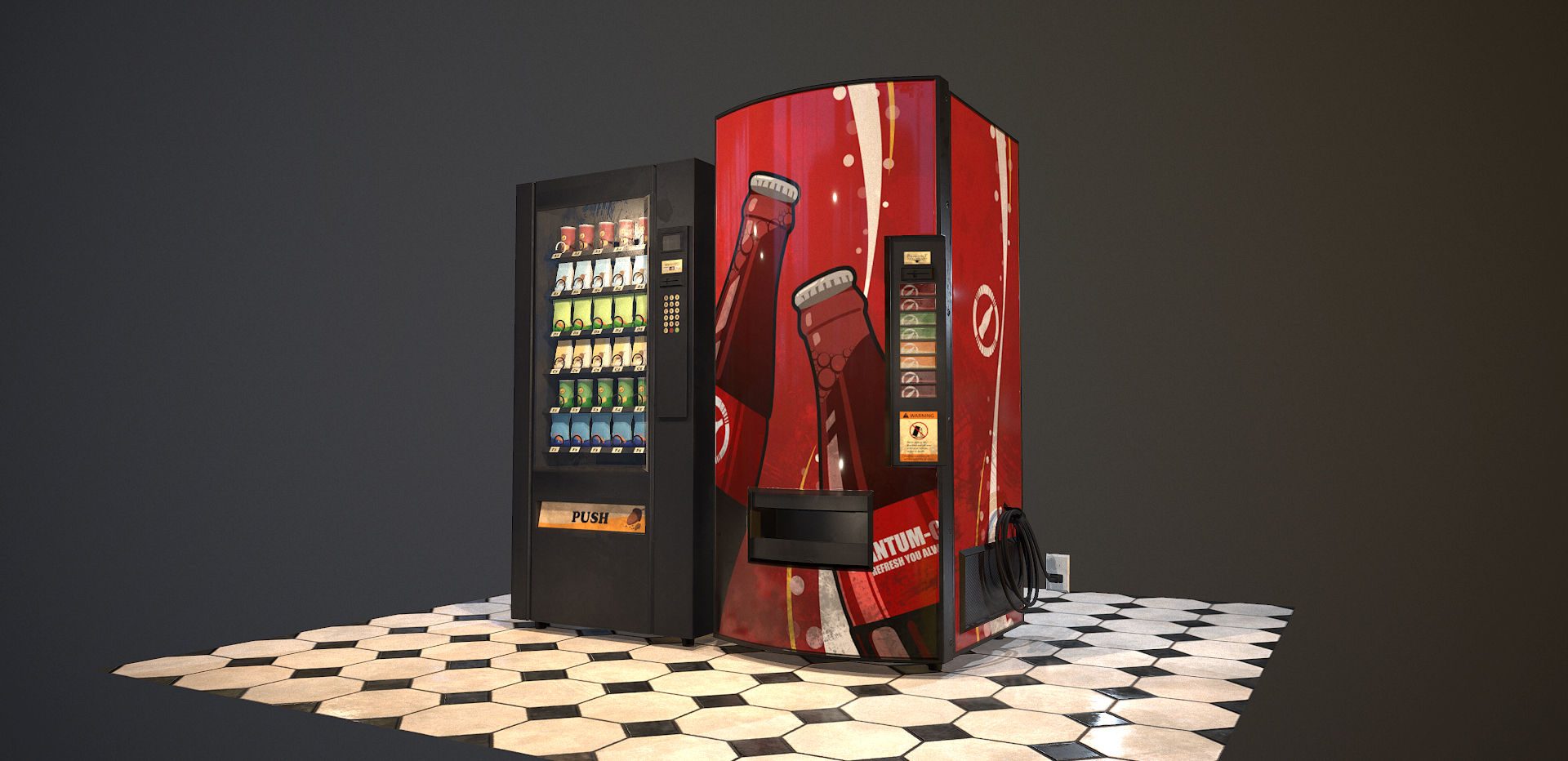 PBR Vending Machines