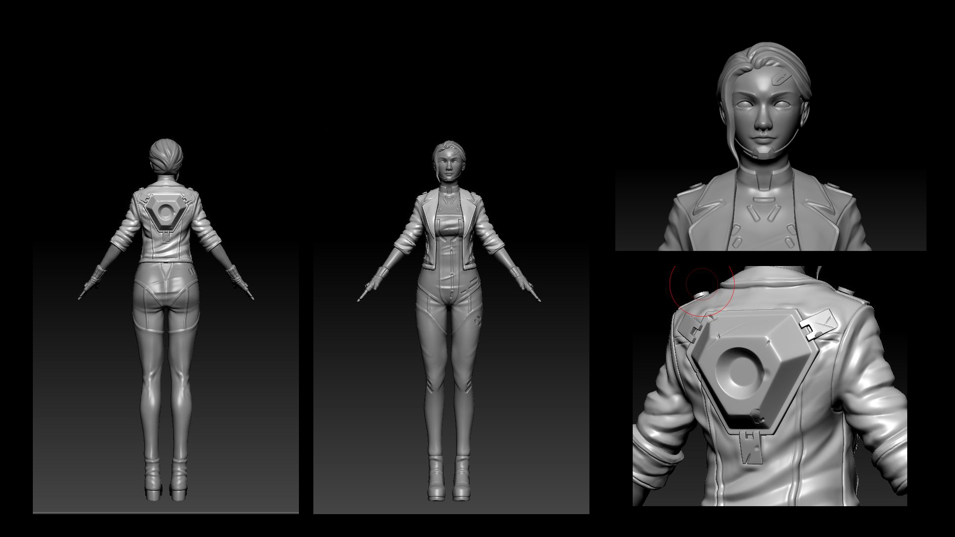 Sculpted Highpoly Model
