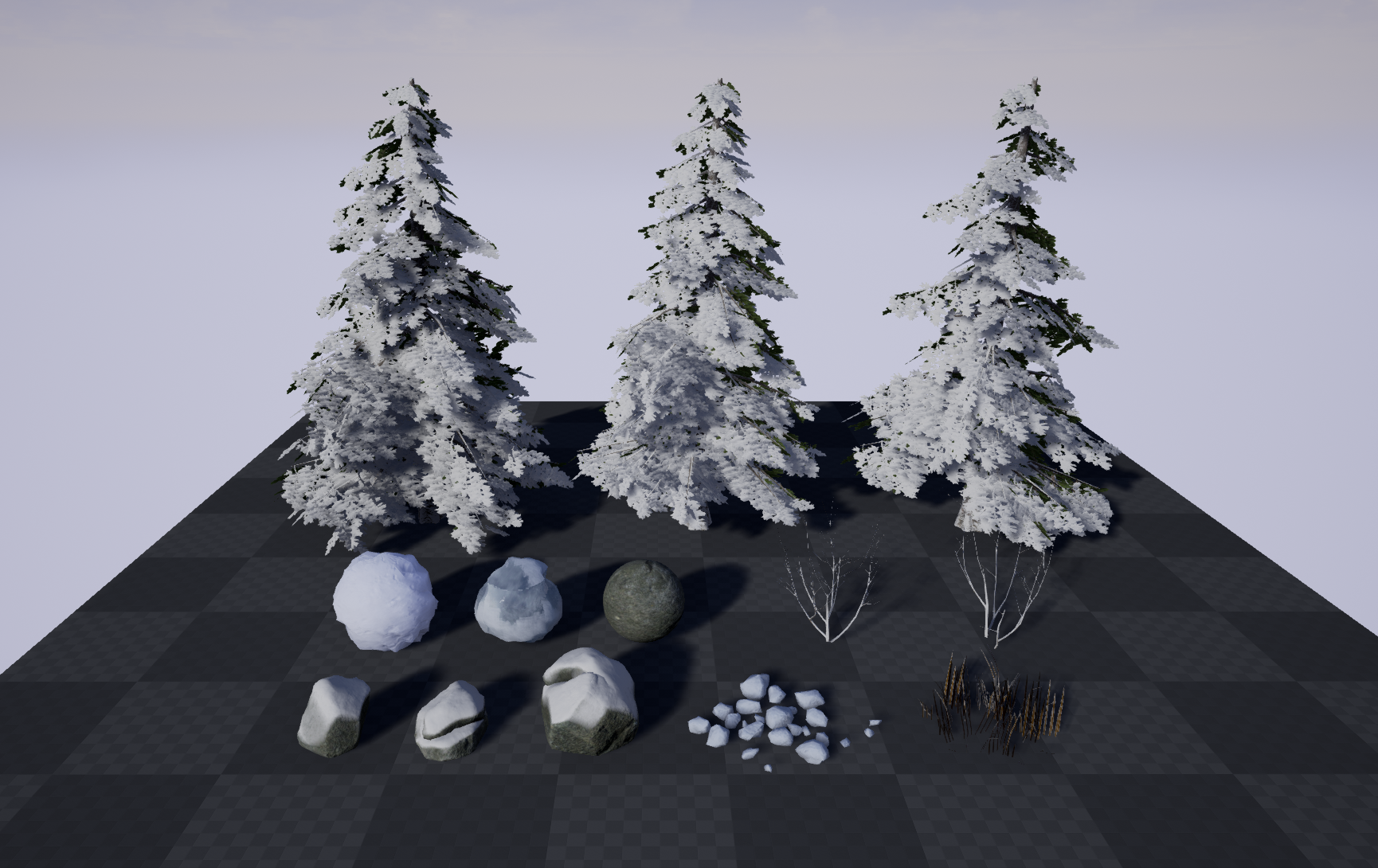 Winter Level Assets