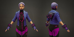 In-game Character Model